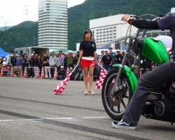 kickback 0-40m drag race